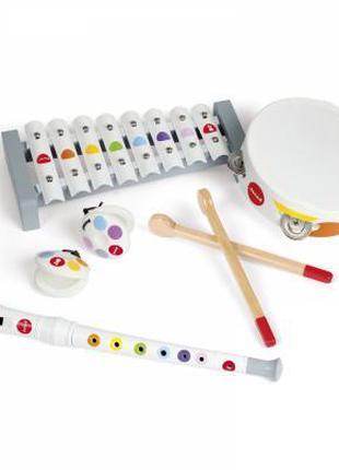 Музыкальная игрушка Janod Набор музыкальных инструментов Конфе...
