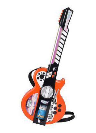 Музыкальная игрушка Simba Гитара с разъемом для MP3 (6838628)
