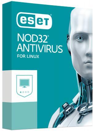 Антивирус ESET NOD32 Antivirus для Linux Desktop для 2 ПК, лиц...
