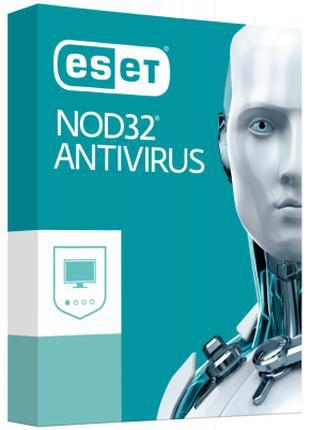Антивирус ESET NOD32 Antivirus для 2 ПК, лицензия на 1year (16...