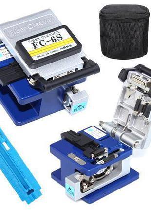 Скалыватель оптического волокна FC-6S FTTH 125мкм + 250-900мкм