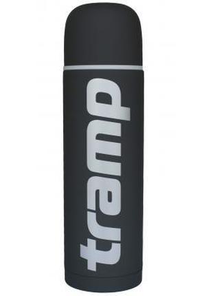 Термос Tramp Soft Touch 1.2 л Grey (TRC-110-grey)