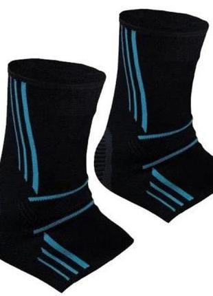 Фиксатор голеностопа Power System Ankle Support Evo Black/Blue...