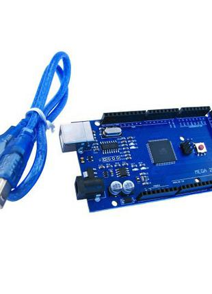 Плата микроконтроллера Arduino Mega 2560 ATmega2560-16AU плата...