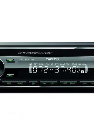 Автомагнитола CD/MP3/SD/USB/FM CYCLON 1019 G Bluetooth
