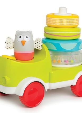 Развивающая игрушка Taf Toys Совушка-малышка с пирамидкой 2 в ...
