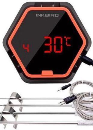 Термометр кулинарный Bluetooth для гриля INKBIRD IBT-6XS, 4 да...