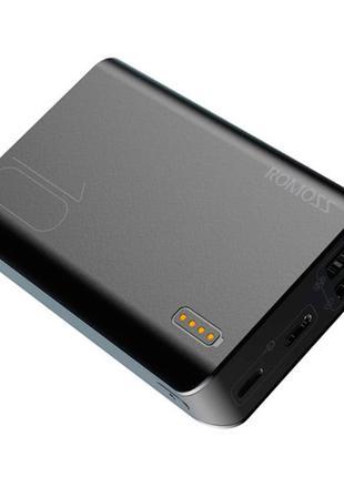 Power Bank Внешний аккумулятор 10000мАч 2xUSB 2.1A Romoss Sens...
