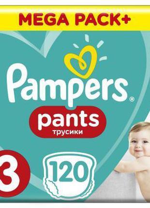 Подгузник Pampers трусики Pants Midi Размер 3 (6-11 кг), 120 ш...