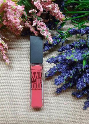 Блеск для губ maybelline new york color sensational vivid matte
