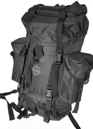 Рюкзак туристический 603-01 60 л, черный