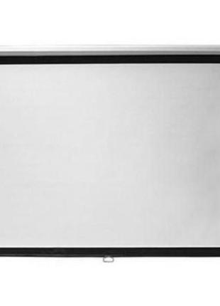 Проекционный экран 2E настенный с механизмом возврата 4:3, 120...