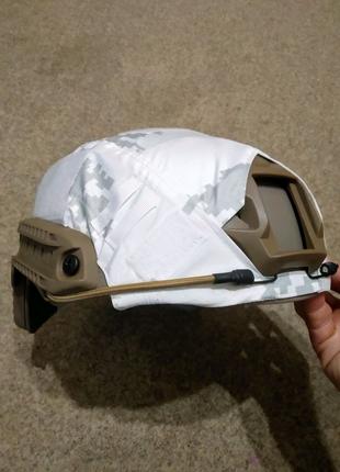 Зимний кавер на каску FAST Helmet