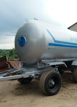 Бочка трехосная МЖТ-16 (для воды, КАС или навоза)