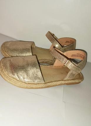 Фирменные босоножки туфли тапочки эспандрильи