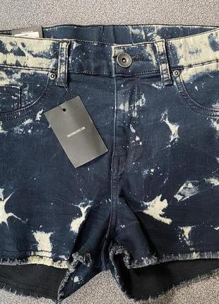 Шорты джинсовые «варёнки» размер м