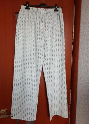 Мужские пижамные брюки, летние100%хлопок.