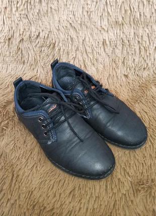 Туфли школьные на мальчика. 29 размер.