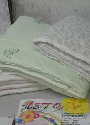Покрывало (одеяло летнее) микрофибра, доступные цены! евро, 2х...