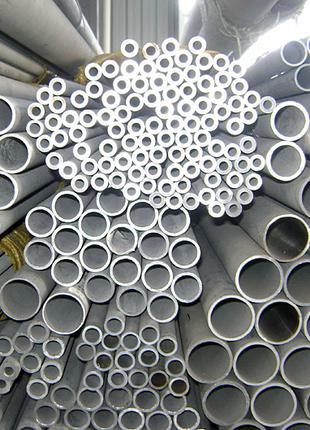 Труба нержавеющая 12х18н10т цельнотянутая от 4х0,5мм до 95мм