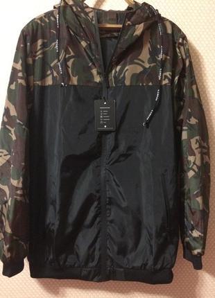 Куртка ветровка осень весна дождь спорт