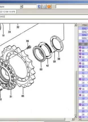 Hitachi Parts Manager Pro - Установка Каталога Запчастей Hitachi
