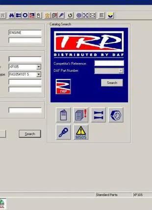DAF Rapido - Установка каталога запчастей для грузовиков !