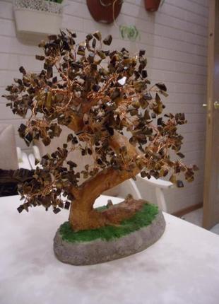 сувенір,дерево щастя,натуральний камінь