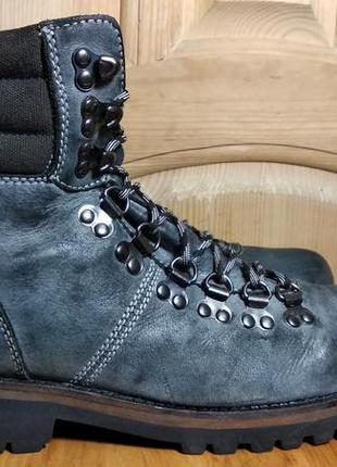 Мужские кожаные ботинки firetrap (оригинал) 43 р.