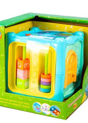 """Интерактивная игрушка """"Развивающий куб"""" 6 в 1"""
