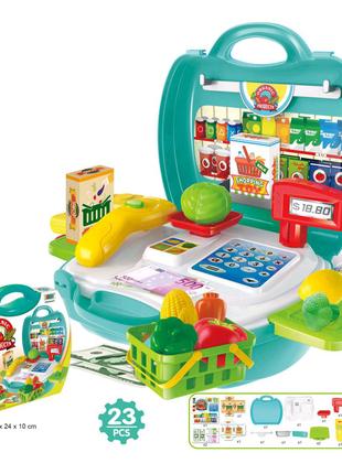 """Игровой набор """"Супермаркет"""" в чемоданчике"""