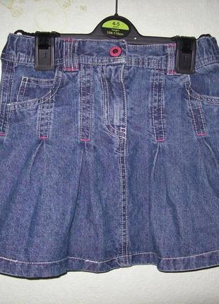Джинсовая юбка, 7-8 лет, голландия