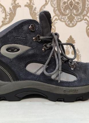 Hi-tec. унисекс! зимние водонепроницаемые трекинговые ботинки,...