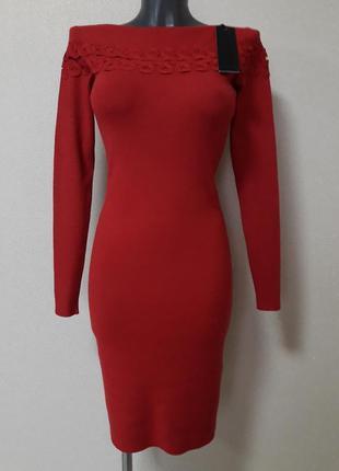 Обаятельное,обтягивающее,теплое,25%кашемира,5%шерсти,платье в ...