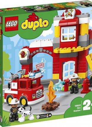 Конструктор LEGO DUPLO 10903 Пожарное депо на 76 деталей