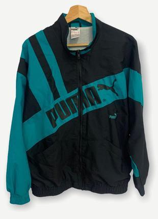 Винтажная куртка ветровка puma вітровка вінтаж пума