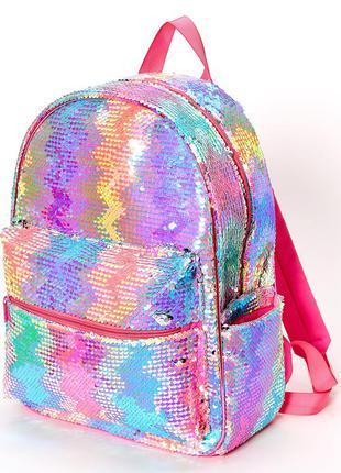 Claires рюкзак с пайетками