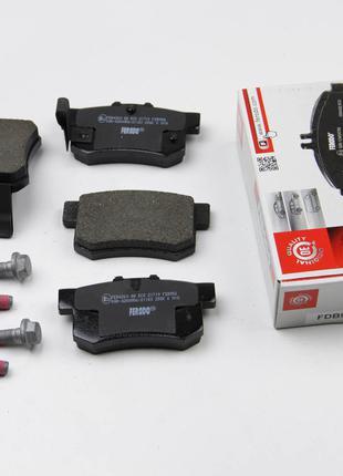 Колодки тормозные задние Honda Civic 1998- (47,8x88,9x14,5) Fe...