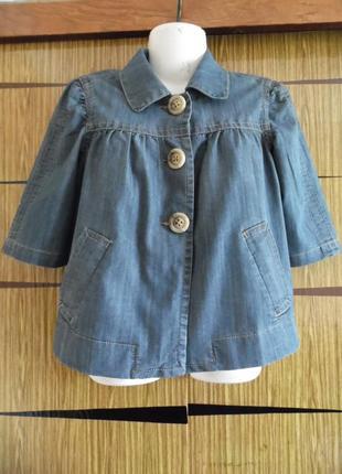 Куртка жакет джинс baccini размер м – идет на 46-48+.