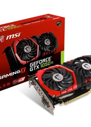 MSI PCI-Ex GeForce GTX 1050 Ti GAMING X 4GB GDDR5 (128bit)