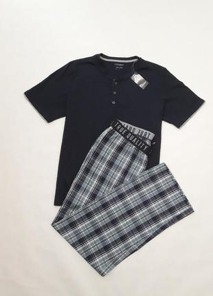 Пижама с брюками, летняя пижама, комплект для дома, livergy, г...