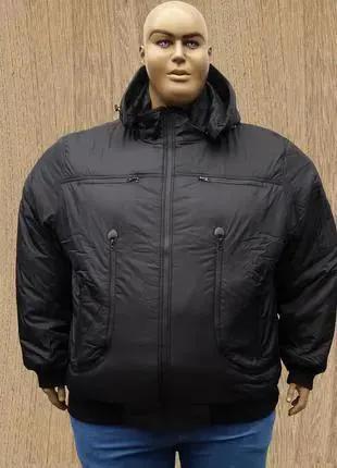 Большого размера зимняя мужская куртка пилот.