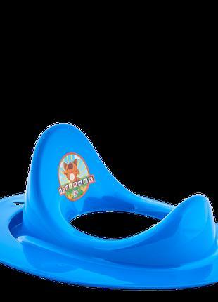 Накладка на унитаз детская (голубая)