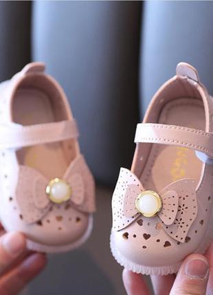 Миленькие туфельки, туфельки для малышек