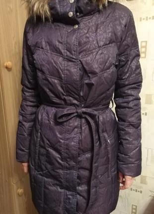 Фирменное зимнее пальто, пуховик iguana