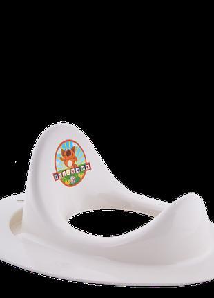 Накладка на унитаз детская (белая роза)