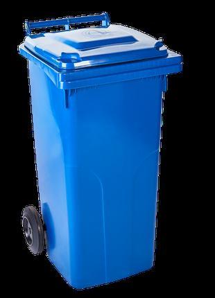 Контейнер для твердых бытовых отходов 120л. (синий)