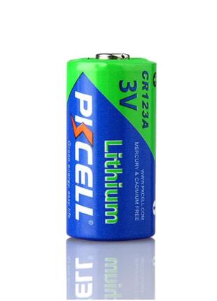 Батарейки литиевые CR123A.