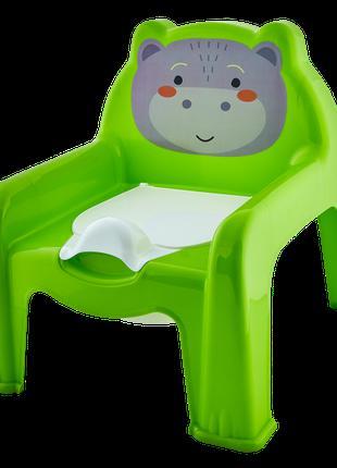 Горшок-стульчик (оливк.)