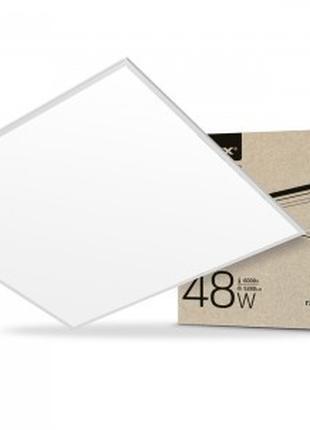 LED панель VIDEX 48W 6000K 220V матовая 2шт/10шт